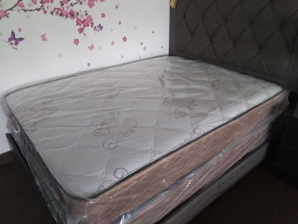 New queen mattress and box spring FREE DELIVERY ....BED FRAME SOLD SEPARATELY