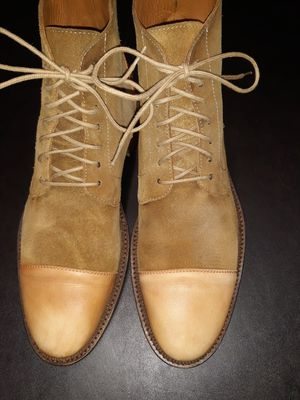 Men Tan Suede Taft Boots Size 42 Or size 9 for Sale in Queens, NY