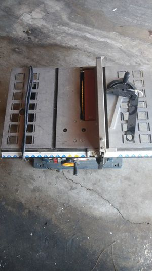 "10""TABLE SAW for Sale in Garden Grove, CA"