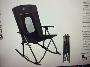 New portable foldable rocking chair for Sale in Chesapeake, VA
