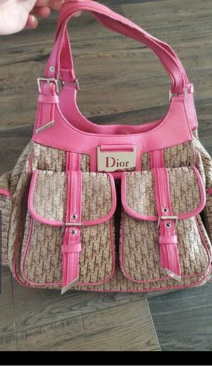 Christian dior 1000% Auth pink monogram bag for Sale in Emmett, ID