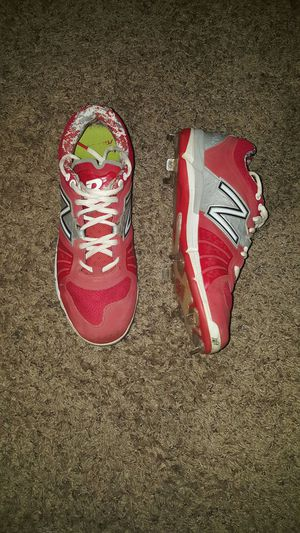 Red Rev lite RC New balance cleats for Sale in Lemon Grove, CA