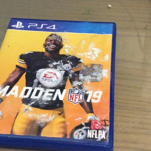 PS4 Madden NFL 19 for Sale in Hialeah, FL