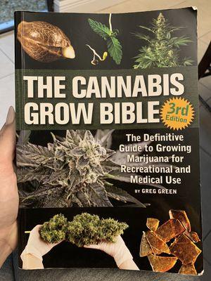 The Cannabis Grow Bible Book for Sale in Boynton Beach, FL