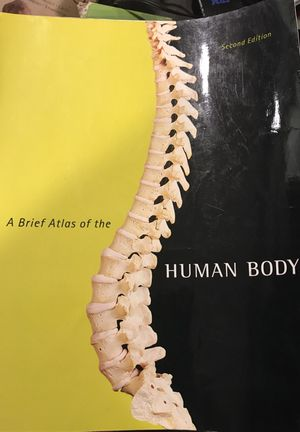 A brief Atlas of the HUMAN BODY 2nd edition for Sale in Mount Rainier, MD