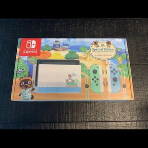 Nintendo Switch System (Animal Crossing) for Sale in Hialeah, FL