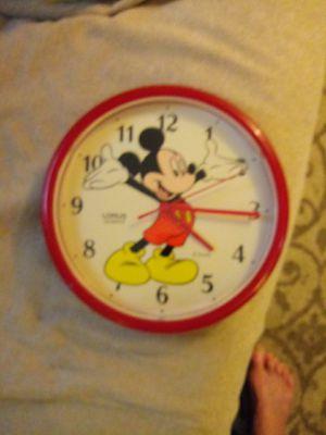 Mickey mouse clock for Sale in Dallas, TX