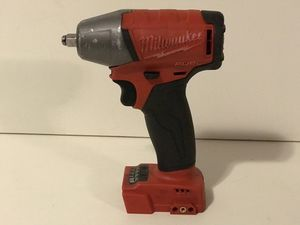 MILWAUKEE M18 FUEL CORDLESS 3/8in IMPACT WRENCH NO BATTERY OR CHARGER INCLUDED TOOL ONLY SOLO LA HERRAMIENTA for Sale in San Bernardino, CA
