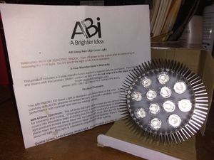 ABi 12W deep red led grow light for Sale in Indianapolis, IN