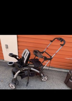 Pre-owned Sit N Stand Double Stroller for Sale in San Jose, CA