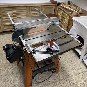 "Ridgid 10"" Table saw for Sale in Surprise, AZ"