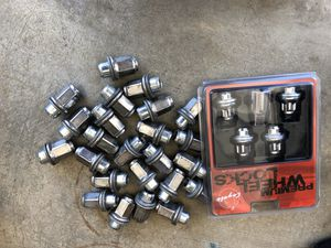 Toyota Tacoma 4Runner tundra OEM lug nuts 24 pcs genuine Toyota parts lug nuts 1996 - 2019 for Sale in Vista, CA