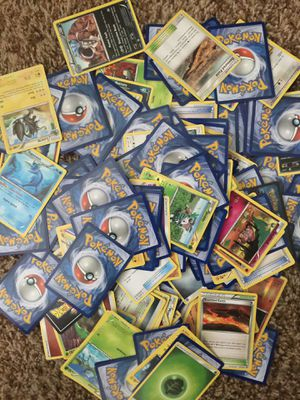 1000+ Pokémon cards $30 takes all for Sale in Fresno, CA