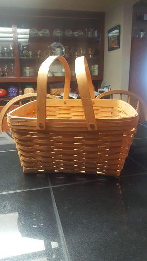 Longaberger basket for Sale in Everett, WA