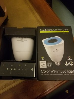 Color Wi Fi Music Light for Sale in San Francisco, CA