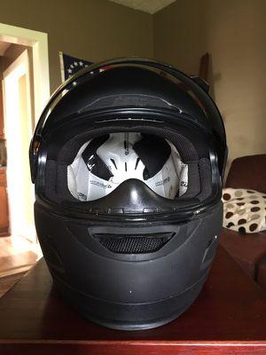 ICON Alliance flat black motorcycle helmet for Sale in Warrenton, VA