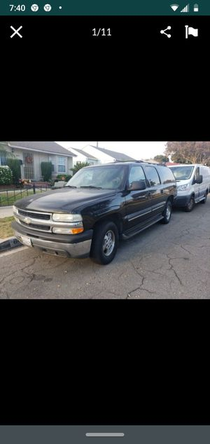 2001 Chevy suburban. Runs great asked my for $2,800 OBO. Power windows power locks currently registered for Sale in Los Angeles, CA