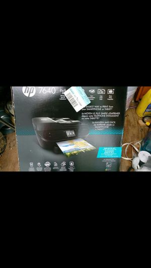 HP Envy 7640 printer/and photos for Sale in Graham, NC