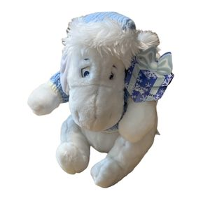 EEYORE DISNEY STORE Exclusive Sweater White Eeyore Blue White Plush 12 inches for Sale in Aloha, OR