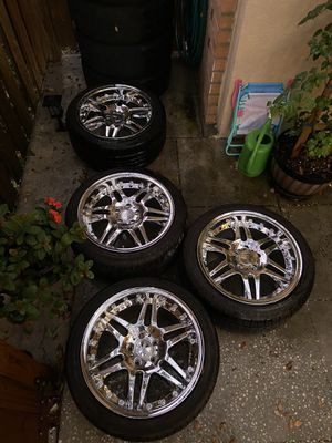 18 inch Mercedes Benz wheels and tires for Sale in Palm Harbor, FL