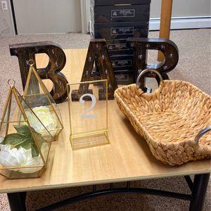 Wedding Supplies for Sale in Auburn, MA