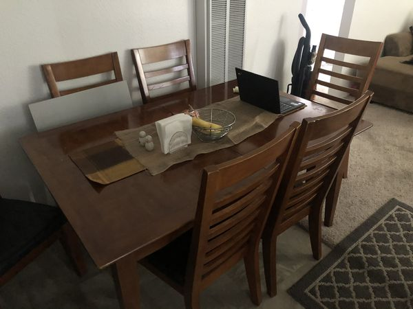 Dining Room table, small table and T.V. For sale as a set