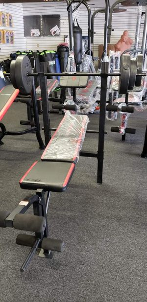Bench weights and bar for Sale in Long Beach, CA