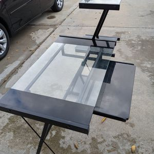 Computer Desk With Three Shelves And a Slide Out Keyboard Tray for Sale in Jamul, CA