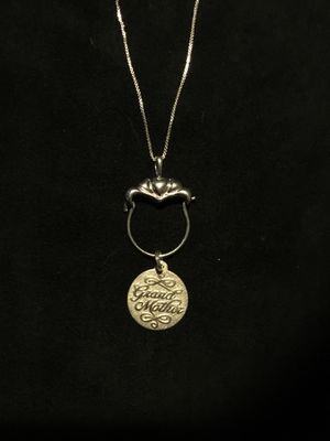 Sterling Silver GrandMother Necklace for Sale in Fort McDowell, AZ