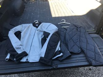 First Gear XL vented motorcycle jacket with liner for Sale in Portland,  OR