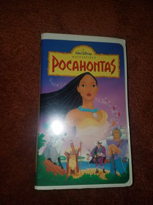 VHS Pocahontas Like New for Sale in San Francisco, CA