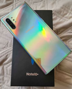 Samsung galaxy note 10plus for sale. Unlocked and in good condition. for Sale in Peoria, AZ