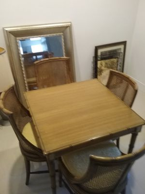 Walter of Wabash table & 4 chairs for Sale in Fort Lauderdale, FL