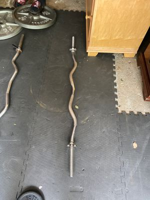 Standard curl bar for Sale in Dearborn, MI