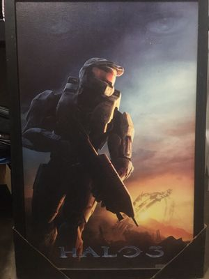 Halo 3 hard poster for Sale in San Angelo, TX