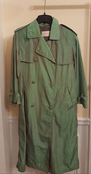 Jones New York Iridescent Trench Raincoat for Sale in Lawrenceville, GA