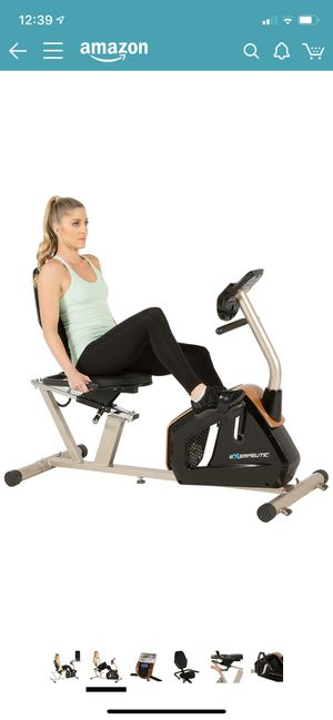 Exerpeutic GOLD Recumbent Exercise Bike *NO POWER ADAPTER* for Sale in Antioch, CA