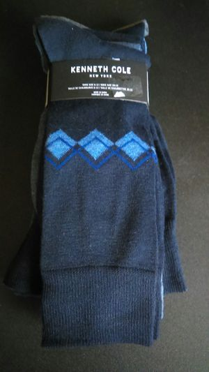 Brand new Kenneth Cole New York colorful dress socks for Sale in Vancouver, WA