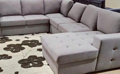 Price Online‼️ 5pcs SLEEPER/ SECTIONAL/SOFA W/STORAGE • Delivery • Assembly • FREE Financing ‼️Same as cash for Sale in Las Vegas,  NV