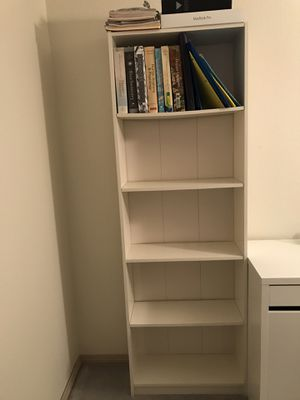 White Bookcase for Sale in Redmond, WA