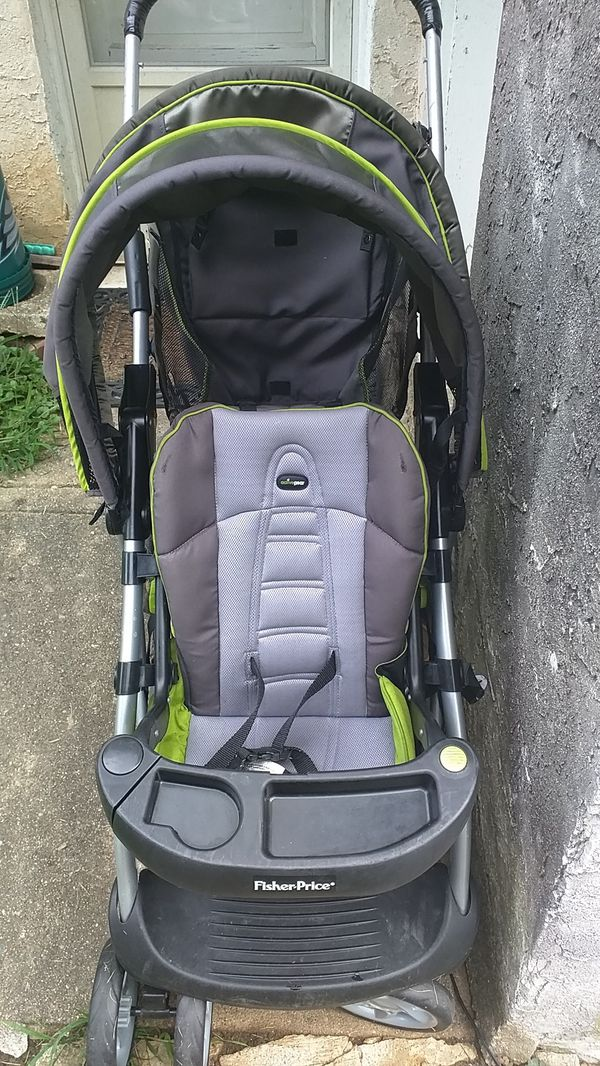 Fisher-Price active gear double stroller