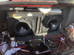 (2) Rockford Fosgate P3 4ohm Subs w/ Box for Sale in Colorado Springs, CO