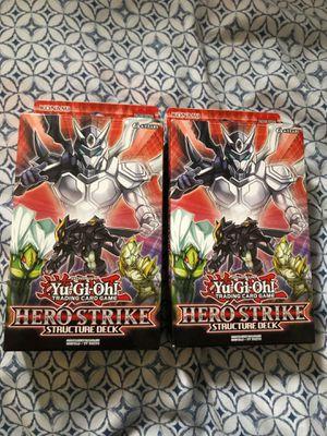 YUGIOH: HERO STRIKE STRUCTURE DECK for Sale in Morton Grove, IL