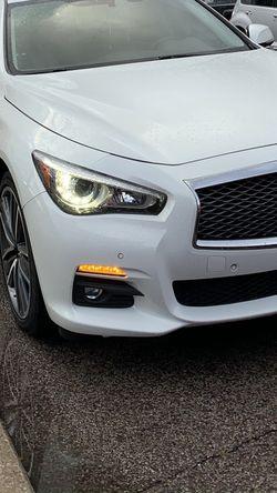 2014-17 Infinite Q50 Premium Bumper W/ Sensors for Sale in Chicago,  IL