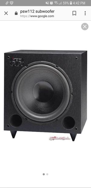 Audiosource Subwoofer Psw112 for Sale in Denver, CO