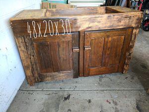 Vintage dry sink dresser antique kitchen cupboard for Sale in Dublin, OH