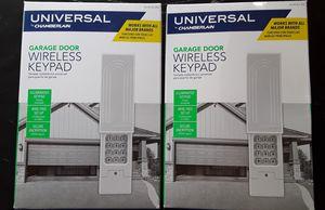 Garage door wireless keypad for Sale in Fresno, CA