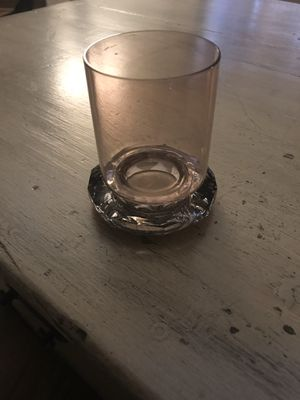 Swarovski tea light holder Reversible from clear to rose gold Great condition for Sale in Matthews, NC