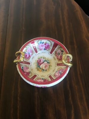 Antique Hand Painted Cabinet Bowl for Sale in Palm Harbor, FL