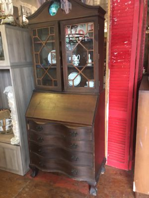Antique vintage drop secretary desk $195 for Sale in San Diego, CA